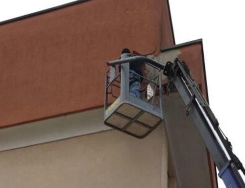 intervento su facciate e Balconi